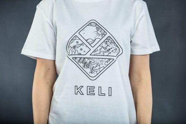 Keli valkoinen t-paita