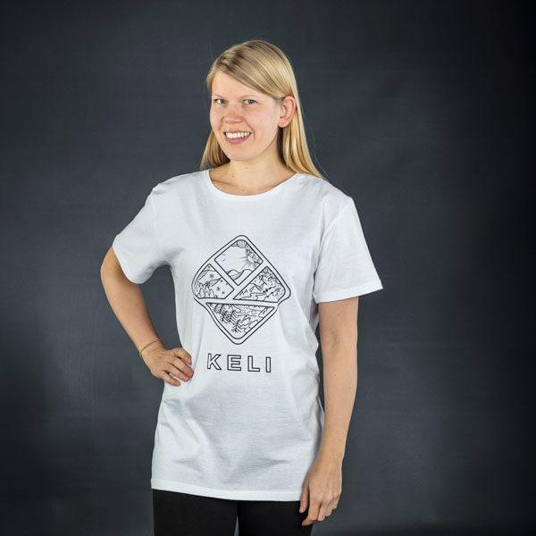 Keli T-paita valkoinen
