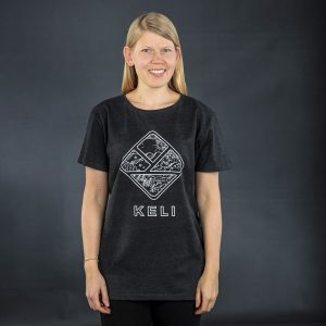 Keli T-shirt anthracite