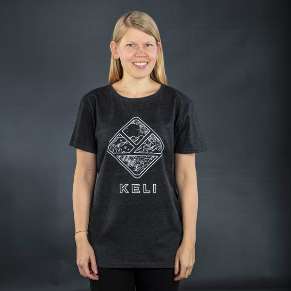 Keli T-shirt anthracite
