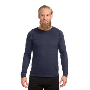 Keli long sleeve merino wool shirt Mustikka