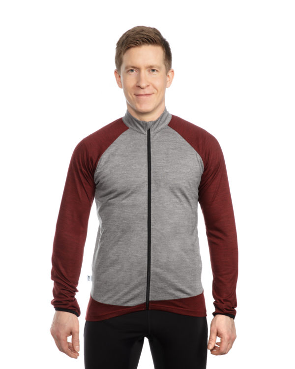 Keli merino wool cycling jersey
