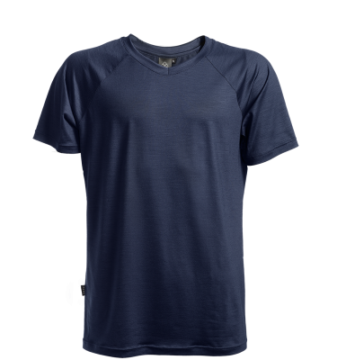 Keli merino wool t-shirt navy
