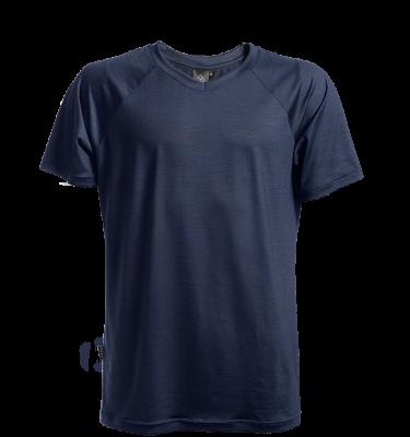 Keli merino wool t-shirt navy