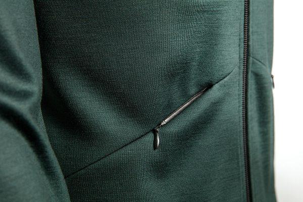 Keli merino wool jacket pocket
